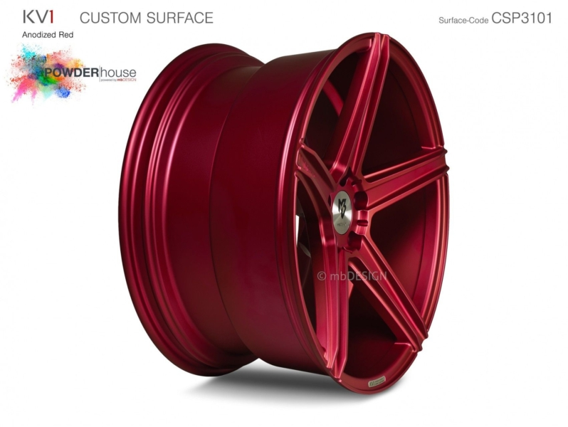 mbDESIGN KV1 Anodized Red
