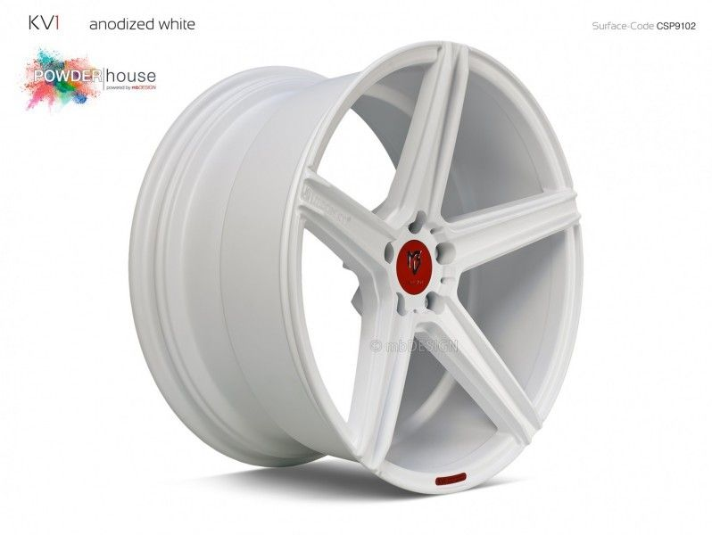 mbDESIGN KV1 Anodized White