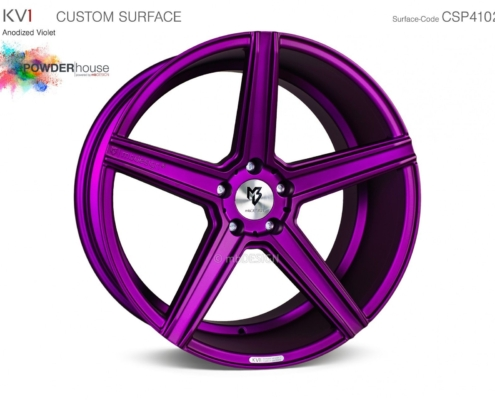 mbDESIGN KV1 Anodized Violet